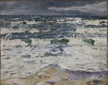 Max Beckmann, Giornata grigia al mare   Gray day at the sea
