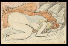 Max Beckmann, Giove e Giocasta | Jupiter und Jokaste