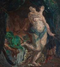 Max Beckmann, Giuditta e Oloferne | Judith und Holofernes