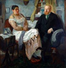 Max Beckmann, Gli amanti   Das Liebespaar