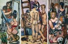Max Beckmann, Gli argonauti (Trittico) | Die Argonauten (Triptychon) | The Argonauts (Triptych)