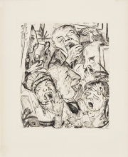 Max Beckmann, Gli sbadigliatori | Die Gähnenden