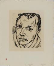 Max Beckmann, Grande autoritratto | Großes Selbstbildnis [1919]