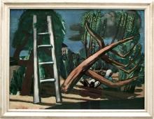 Max Beckmann, Grande paesaggio temporalesco | Große Gewitterlandschaft