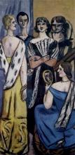 Max Beckmann, Grande quadro di donne (Cinque donne) | Grosses frauenbild (Fünf frauen)