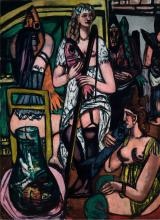Max Beckmann, Grande quadro di donne. Pescatrici | Grosses Frauenbild. Fischerinnen | Large picture of women. Fisherwomen