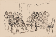 Max Beckmann, Grande sala operatoria | Grosser operationsaal | Large operating theatre