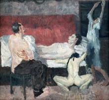 Max Beckmann, Grande scena di morte | Große Sterbeszene