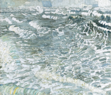 Max Beckmann, Grandi onde grigie | Grosse graue Wellen | Big grey waves