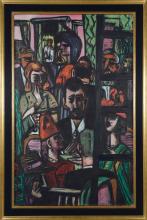 Max Beckmann, Hotel Lobby