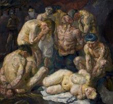Max Beckmann, I prigionieri | The prisoners