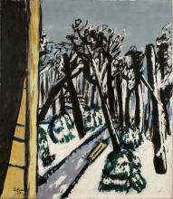 Max Beckmann, Il Tiergarten in inverno | Tiergarten im Winter