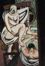 Max Beckmann, Il bagno | Das Bad | The bath