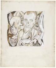 Max Beckmann, Il figliol prodigo deriso | Der Verlorene Sohn wird verspottet | The mocking of the prodigal son