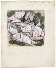 Max Beckmann, Il figliol prodigo tra i maialii | Der Verlorene Sohn unter den Schweinen | The prodigal son among swine