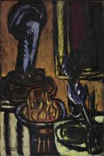 Max Beckmann, Il fuoco (Piccola natura morta) | The fire (Small still life)