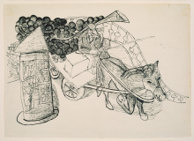 Max Beckmann, Il grappolo d'uva | Die Weintraube | The bunch of grapes