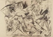 Max Beckmann, Il martirio | Das Martyrium | The Martyrdom