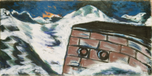 Max Beckmann, Il muro della banchina | Die Kaimauer | The quay wall