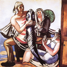 Max Beckmann, Il pesce gatto | Der Katzenfisch | The cat fish