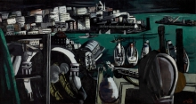 Max Beckmann, Il porto di Genova   The harbor of Genoa