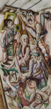 Max Beckmann, Il sogno | The dream