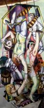 Max Beckmann, Il trapezio | Das Trapez | The trapeze