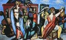 Max Beckmann, Il viaggio   Die Reise   The trip
