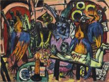 Max Beckmann, Inferno degli uccelli | Hölle der Vögel