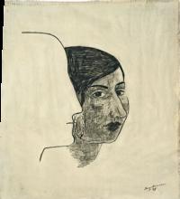 Max Beckmann, Italiana   Italienerin [1945]