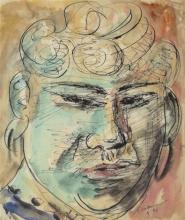 Max Beckmann, L'orientale | Der Orientale | The Oriental