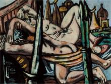 Max Beckmann, La Città d'Ottone | Die Messingstadt