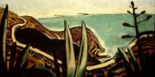 Max Beckmann, La Corniche