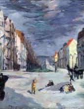Max Beckmann, La Kaiserdamm | Der Kaiserdamm