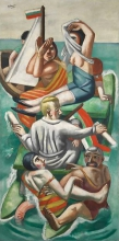 Max Beckmann, La barca | Die Barke | The barque
