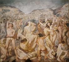 Max Beckmann, La battaglia | Die Schlacht