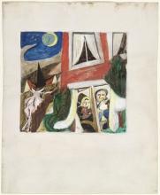 Max Beckmann, La festa del figliol prodigo | Die Heimkehr des Verlorenen Sohnes wird gefeiert | The feast of the prodigal son