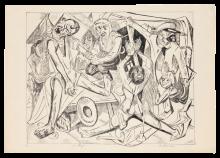 Max Beckmann, La notte  Die Nacht   The night [1919]
