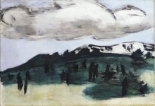 Max Beckmann, La nuvola | Die Wolke | The cloud