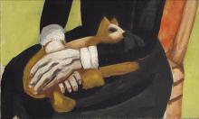 Max Beckmann, La vecchia attrice [dettaglio] | The old actress [detail]