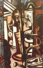 Max Beckmann, Labirinto   Labyrinth