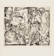 Max Beckmann, Manicomio | Irrenhaus | Lunatic asylum