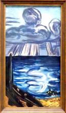 Max Beckmann, Mare con grande nuvola   Meer mit großer Wolke