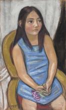 Max Beckmann, Margarethe Wichert (figlia del professor Wichert)   Margarethe Wichert (Tochter professor Wichert)