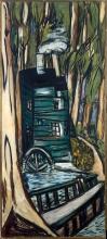 Max Beckmann, Mulino in bosco di eucalipti (Mills College) | Mühle im Eukalyptuswald (Mills College) | Mill in eucalyptus forest (Mills College)