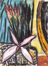 Max Beckmann, Natura morta con fiori | Stillleben mit Blumen | Still life with flowers