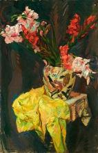 Max Beckmann, Natura morta con gladioli | Stillleben mit Gladiolen