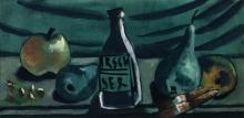 Max Beckmann, Natura morta con mela e pera | Stillleben mit Apfel und Birne