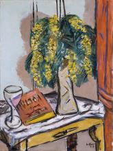 Max Beckmann, Natura morta con mimose