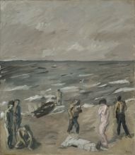 Max Beckmann, Naufragio | Shipwreck